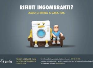 campagna rifiuti ingombranti con lavatrice