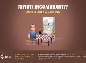 campagna rifiuti ingombranti frigorifero